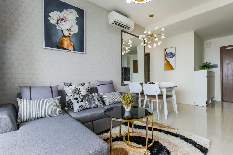 Cho thuê căn hộ Masteri Millennium tầng cao, 2PN, đầy đủ nội thất