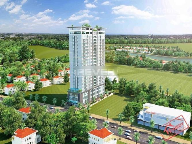 Samland Riverside, Bình Thạnh Căn hộ Samland Riverside view thành phố, đầy đủ nội thất.