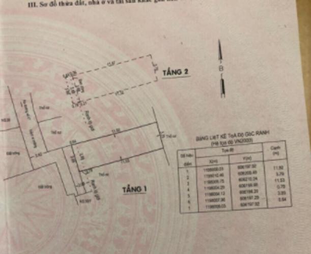 Bản vẽ nhà phố đường số 47, Thủ Đức Nhà phố hướng Tây Nam, hẻm xe hơi, diện tích 47.6m2.