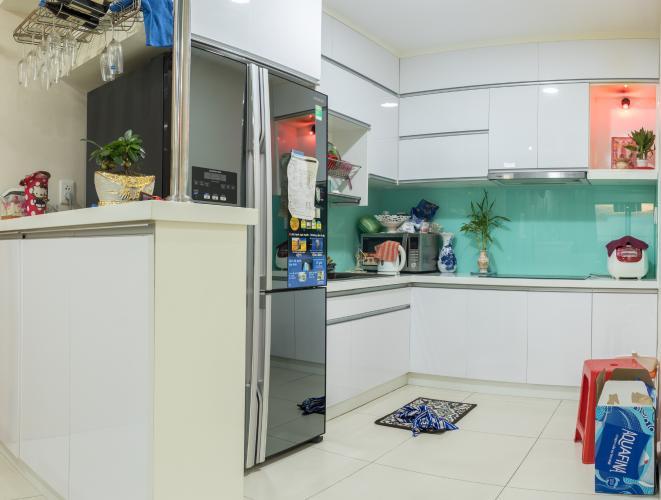 Phòng Bếp Bán căn hộ M-One Nam Sài Gòn 3 phòng ngủ, tầng thấp, tháp T2, đầy đủ nội thất