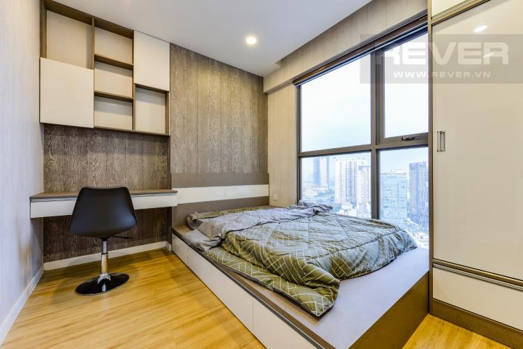 Phòng ngủ 2 Cho thuê căn hộ Masteri Millennium tầng cao 2PN view sông
