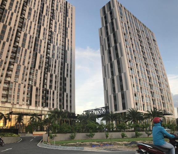 Cetana Thủ Thiêm, Quận 2 Căn hộ Cetana Thủ Thiêm tầng trung, đón view thành phố.