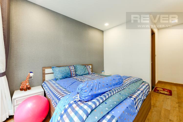 Phòng ngủ 1 Căn hộ Vinhomes Central Park tầng thấp, Park 7, 2 phòng ngủ, view nội khu
