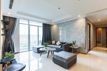 Căn hộ Vinhomes Central Park 4 phòng ngủ tầng thấp C3 đầy đủ nội thất