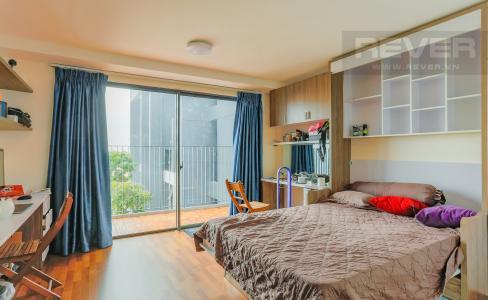 Căn hộ M-One Nam Sài Gòn 1 phòng ngủ tầng thấp T2 nội thất đơn giản