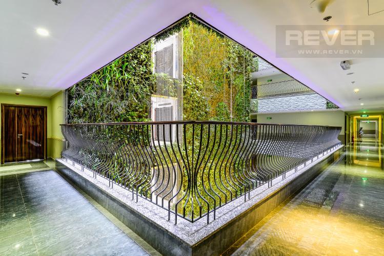 Hành Lang Cho thuê căn hộ tầng cao Léman Luxury Apartments, 2PN, đầy đủ nội thất