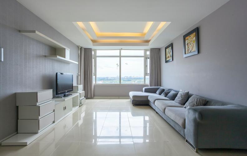Phòng Khách Căn góc Saigon Pearl 3 phòng ngủ tầng thấp Ruby 1