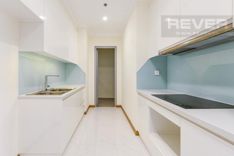 Bếp Căn hộ Vinhomes Central Park 3 phòng ngủ tầng thấp L2 hướng Đông Bắc