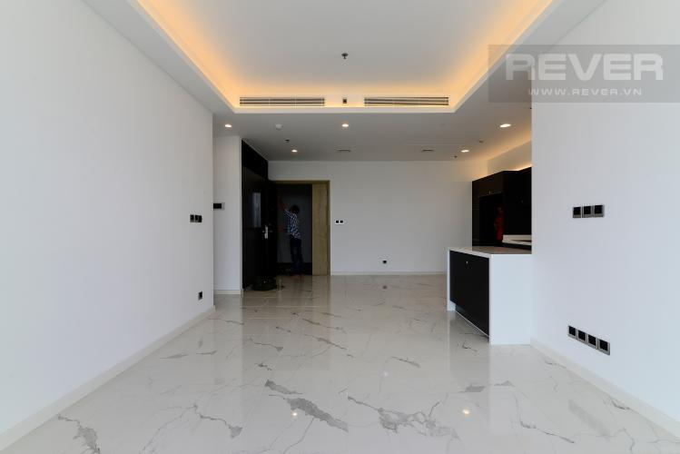 Phòng Khách Cho thuê căn hộ Sari Town Sala Đại Quang Minh 3PN, tầng thấp, nội thất cơ bản, hướng Đông Nam đón gió