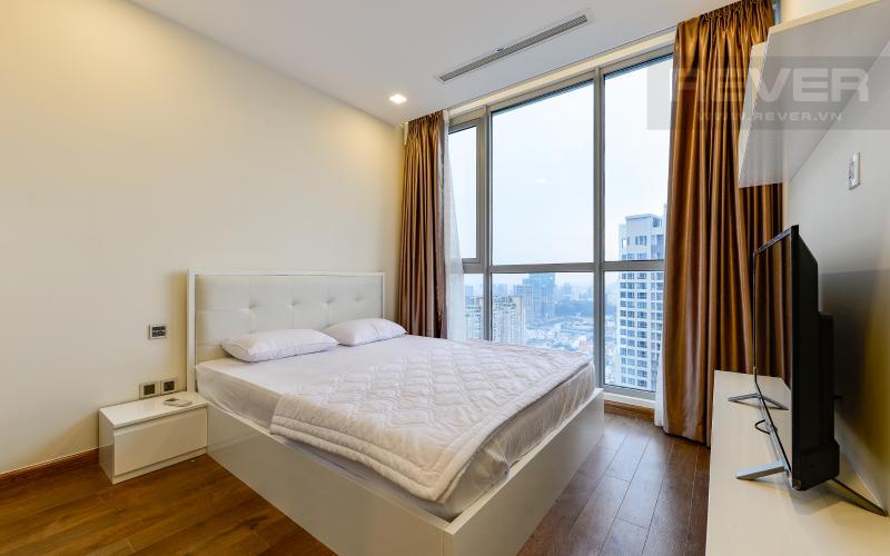 phòng ngủ 1 Căn hộ 2 phòng tại The Park 6 Vinhomes Central Park đầy đủ nội thất
