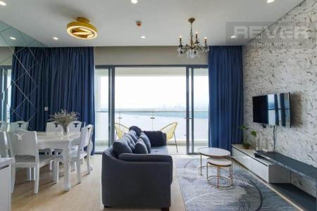Bán hoặc cho thuê căn hộ 1 phòng ngủ Diamond Island - Đảo Kim Cương, tháp Maldives, đầy đủ nội thất, view sông thông thoáng