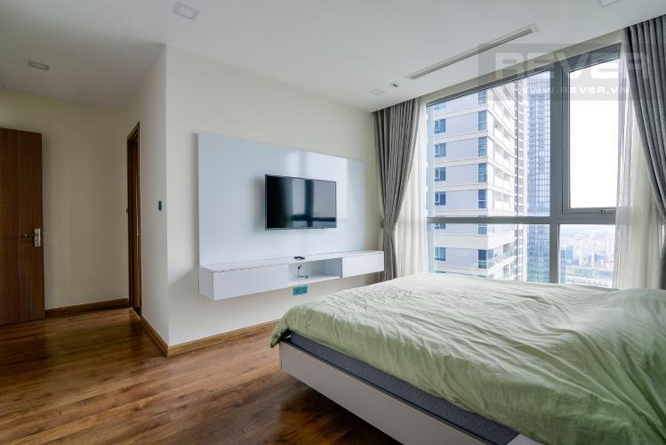 Phòng Ngủ 1 Cho thuê căn hộ Vinhomes Central Park 4PN, đầy đủ nội thất, view trực diện sông Sài Gòn