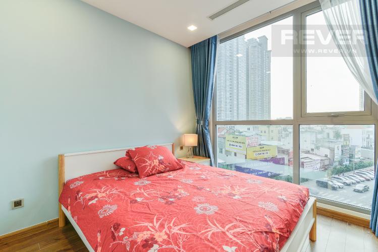Phòng Ngủ 1 Cho thuê căn hộ Vinhomes Central Park tầng thấp, 2PN, đầy đủ nội thất