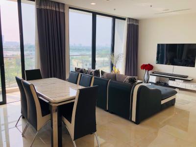 Bán căn hộ Vinhomes Golden River 3PN, tháp The Aqua 4, diện tích 123m2, đầy đủ nội thất, view thành phố