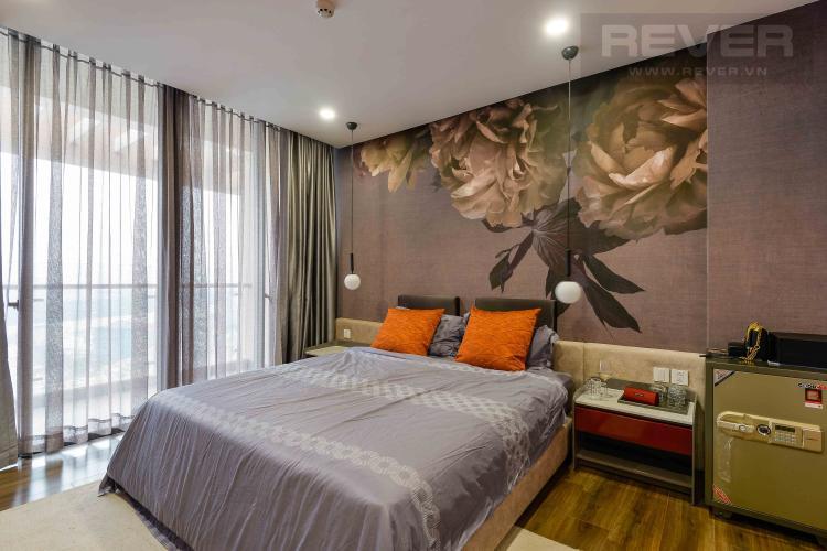 Phòng Ngủ 3 Bán penthouse Masteri Millennium 3PN, diện tích 222m2, đầy đủ nội thất, view sông và Bitexco