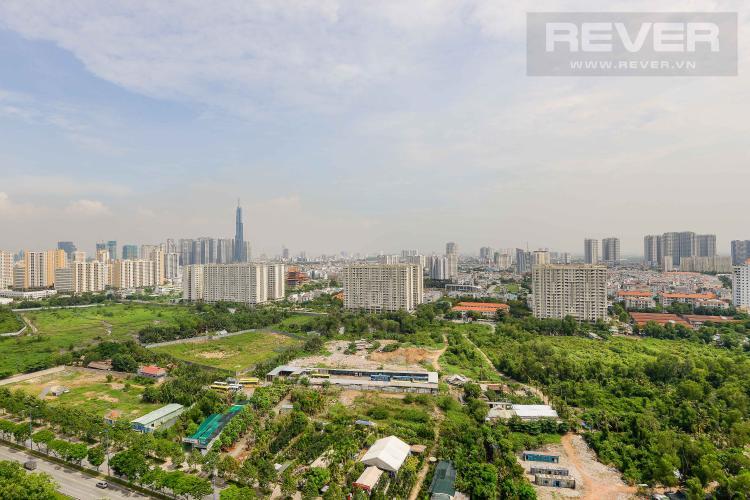 View Cho thuê căn hộ The Sun Avenue 3PN, đầy đủ nội thất, view Landmark 81