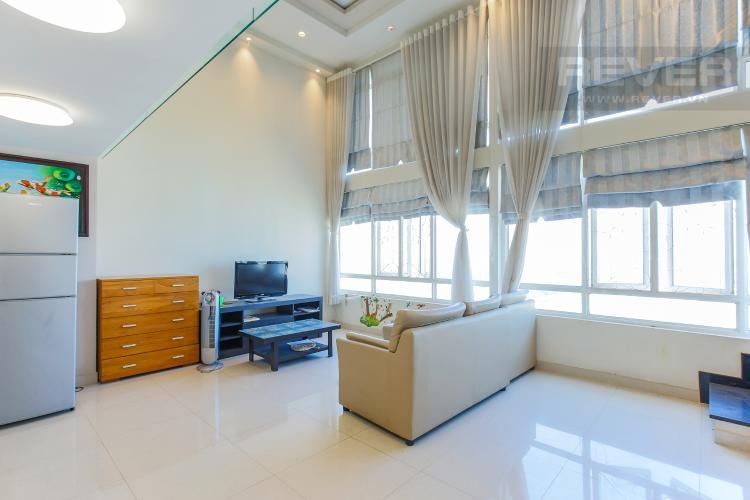 Phòng Khách Duplex 3 phòng ngủ Phú Hoàng Anh tầng cao block C