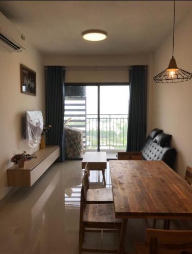 Tổng quan căn hộ The Sun Avenue Căn hộ view thành phố - The Sun Avenue tầng trung, 2 phòng ngủ, diện tích 76m2.