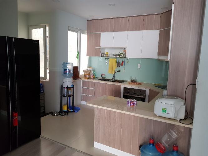 khu vực bếp chung cư Đường Sắt, Quận 3 Căn hộ chung cư Đường Sắt hướng Tây Bắc, nội thất cơ bản.