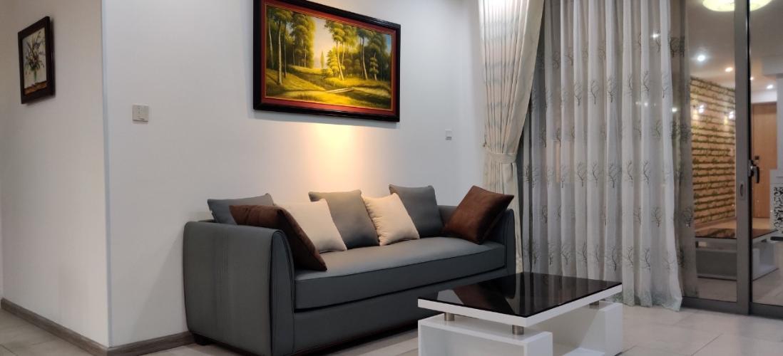 Cho thuê căn hộ Riviera Point 3PN, diện tích 105m2, đầy đủ nội thất, view sông và hồ bơi