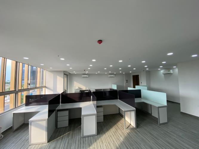 Tổng quát shophouse Midtown Căn hộ shop-house Phú Mỹ Hưng Midtown, nội thất văn phòng cơ bản.