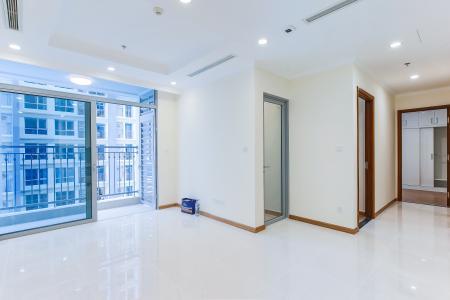Officetel Vinhomes Central 2 phòng ngủ tầng trung L4 nhà trống