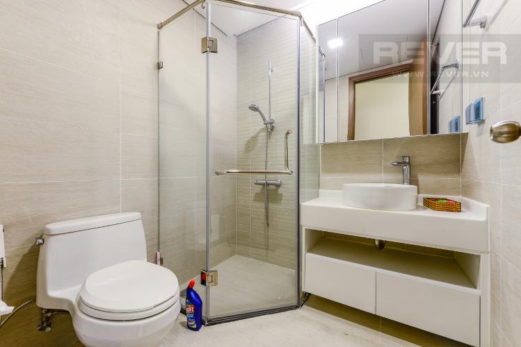 Phòng tắm 2 Cho thuê căn hộ Vinhomes Central Park tầng cao, 2PN đầy đủ nội thất view sông