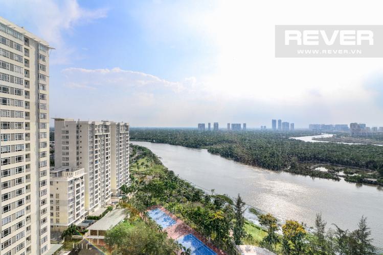 View Căn hộ Riverside Residence 2 phòng ngủ tầng trung tháp D view sông