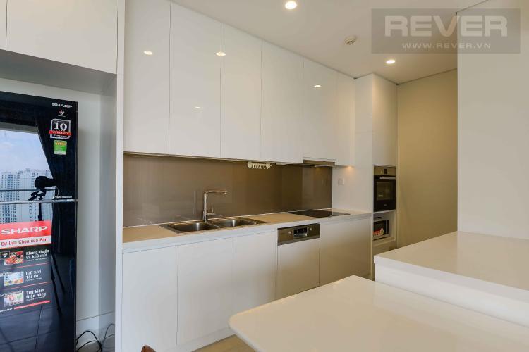 Bếp Bán hoặc cho thuê căn hộ Diamond Island - Đảo Kim Cương 2PN, đầy đủ nội thất, view sông và Landmark 81