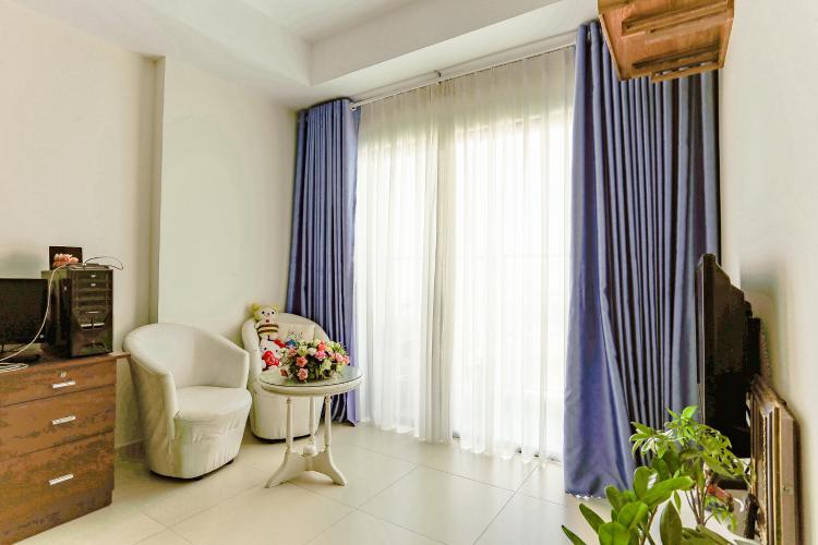 Căn hộ M-One Nam Sài Gòn tầng cao diện tích 62,75m2, nội thất đầy đủ.