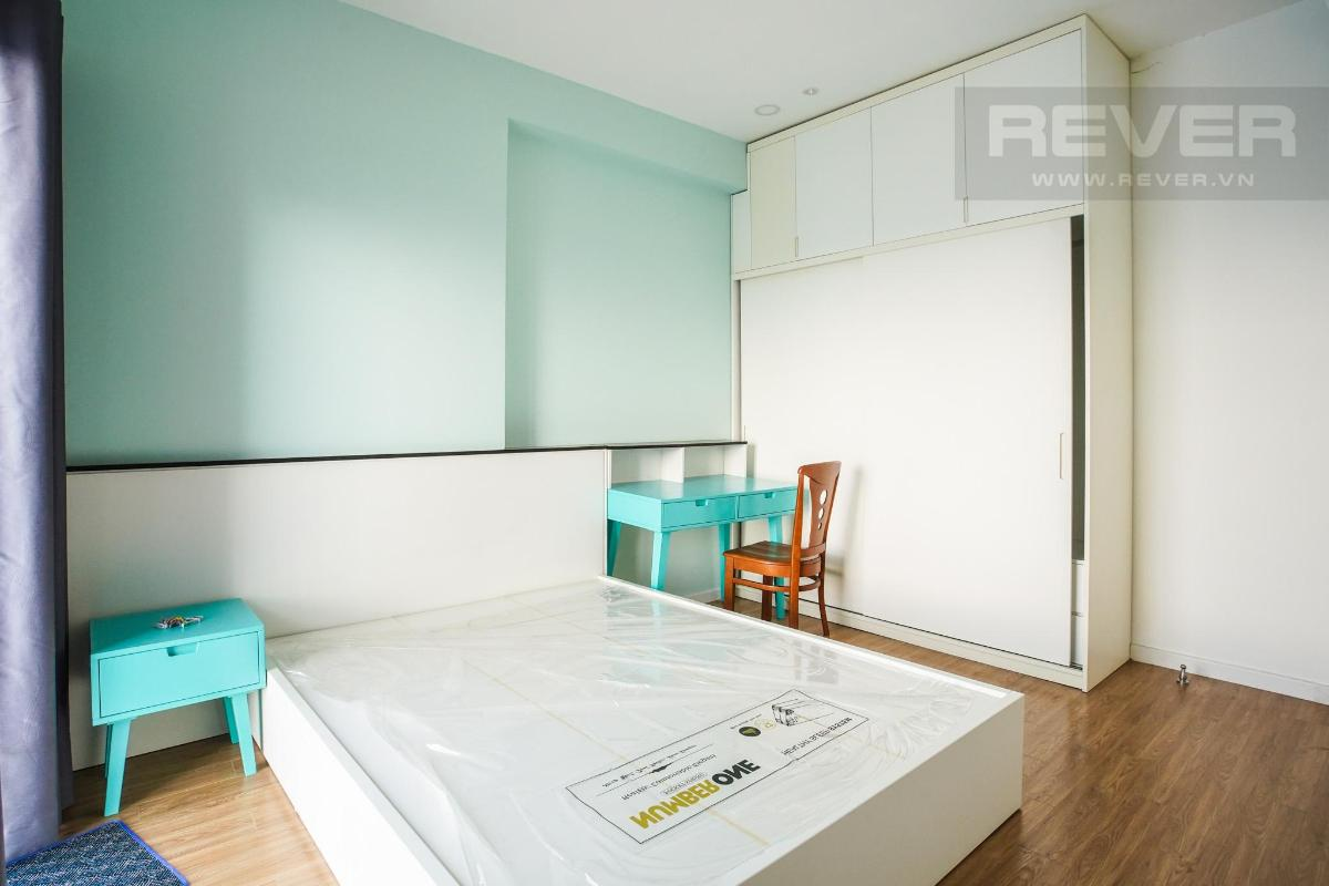 phòng ngủ master Cho thuê căn hộ M-One Nam Sài Gòn 3PN, tầng 9, tháp T1, đầy đủ nội thất, view thoáng