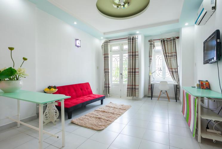Căn hộ dịch vụ 1 phòng ngủ đường Bùi Tá Hán, An Phú Quận 2