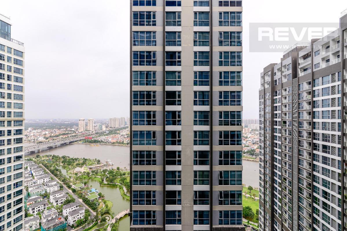 4F84045A-F2B0-4E2C-BB47-7FF9CD0B0AE7 Cho thuê căn hộ Vinhomes Central Park 2PN, diện tích 85m2, đầy đủ nội thất, view mé sông và công viên