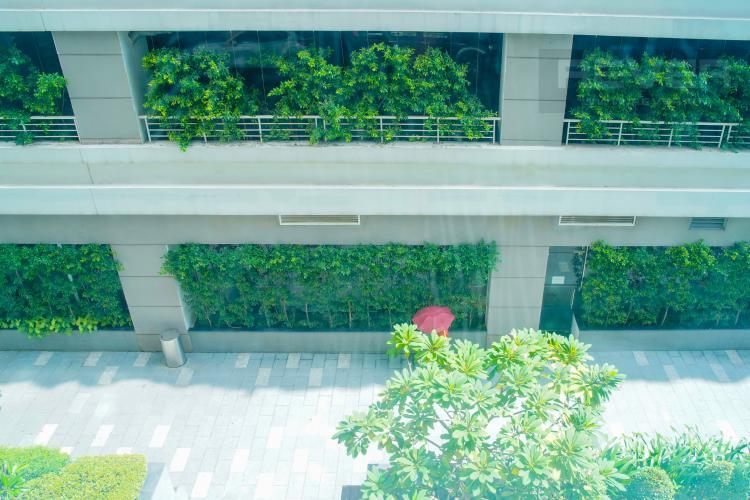 View Bán hoặc cho thuê officetel Lexington Residence, diện tích 65m2, không có nội thất, view nội khu