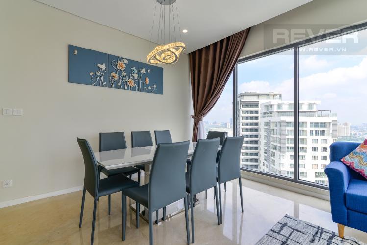 Phòng Ăn Bán căn hộ Diamond Island - Đảo Kim Cương 3PN, tầng cao, tháp Maldives, đầy đủ nội thất