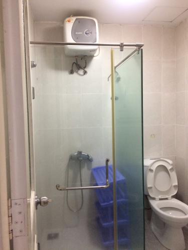 Phòng tắm căn hộ Copac Square, Quận 4 Căn hộ Copac Square nội thất đầy đủ hiện đại, ban công Đông Nam.