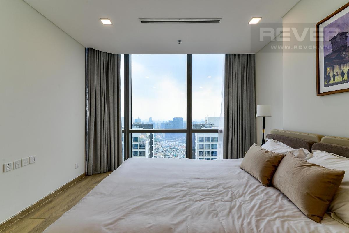 Phòng Ngủ 1.2 Bán hoặc cho thuê căn hộ Vinhomes Central Park 4PN, tháp Landmark 81, diện tích 164m2, đầy đủ nội thất, căn góc view thoáng