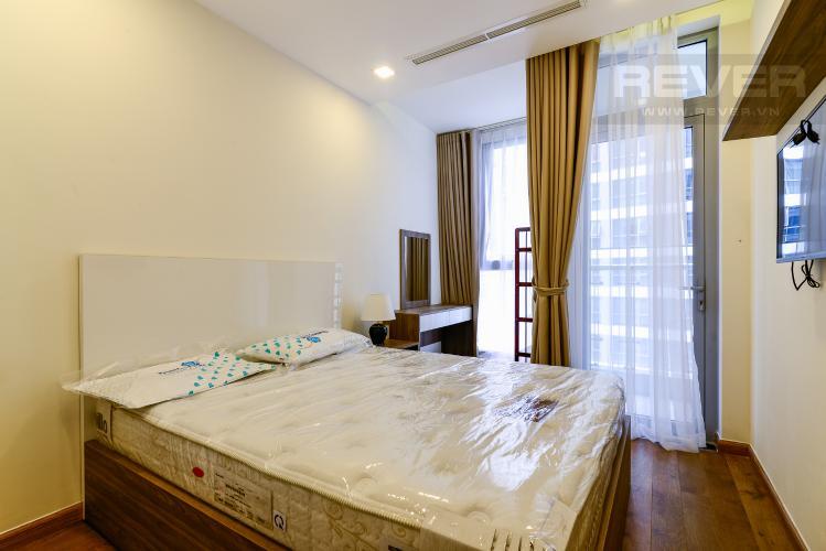 Phòng  Ngủ 2 Cho thuê căn hộ Vinhomes Central Park tầng trung tháp Park 5, 2PN 2WC, đầy đủ nội thất