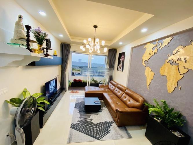 Căn hộ Richstar tầng thấp, đầy đủ nội thất.
