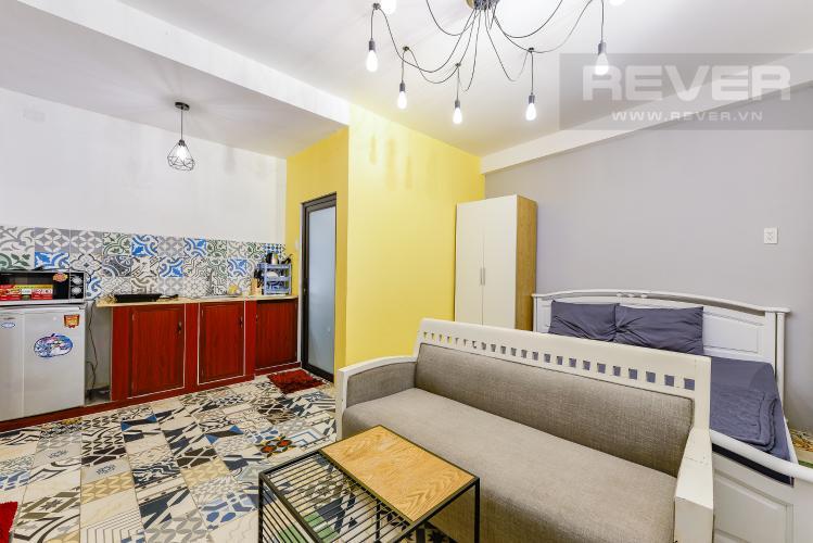 Phòng ngủ Căn hộ dịch vụ 1 phòng ngủ đường Phan Văn Hân 28m2
