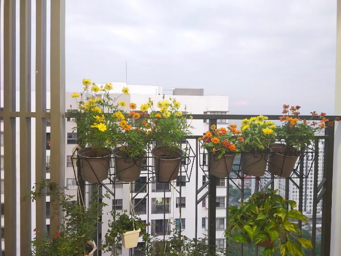 Ban công căn hộ Saigon South Residence, Nhà Bè Căn hộ Saigon South Residence nội thất đầy đủ, thiết kế sang trọng.