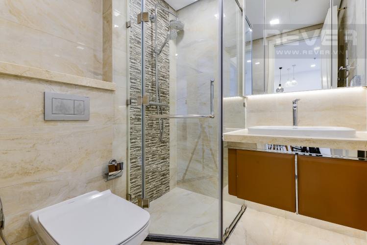 Phòng tắm Cho thuê căn hộ Vinhomes Golden River tầng cao, 1PN, view sông