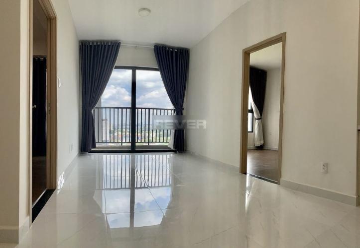 Phòng khách căn hộ Safira Khang Điền, Quận 9 Căn hộ tầng 17 Safira Khang Điền nội thất cơ bản, view thành phố.