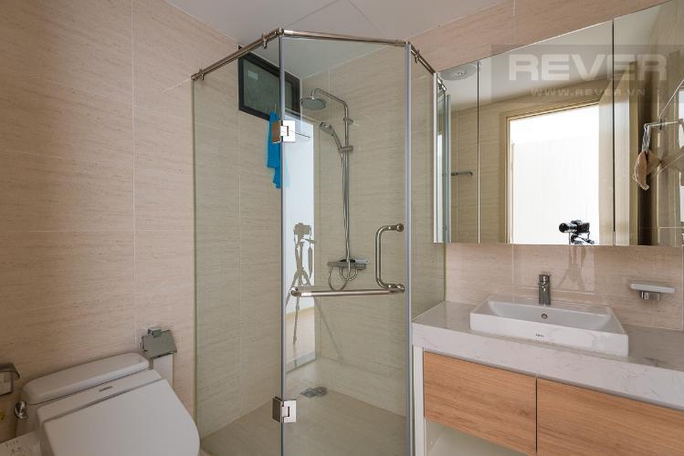 Toilet căn hộ NEW CITY THỦ THIÊM Cho thuê căn hộ New City Thủ Thiêm 2PN, tầng thấp, đầy đủ nội thất, view công viên