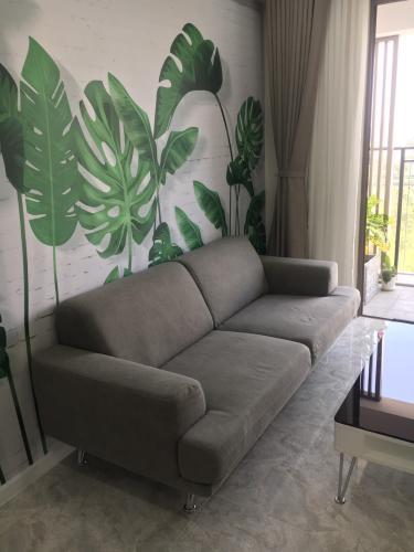 Phòng khách căn hộ Saigon South Residence Căn hộ Saigon South Residence nội thất đầy đủ, cửa hướng Tây.