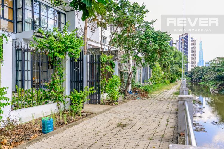 Lộ Giới Sau Nhà Bán nhà phố 2 tầng, Đường Số 5, Villa Thảo Điền Compound Q.2, diện tích đất 143m2, đầy đủ nội thất