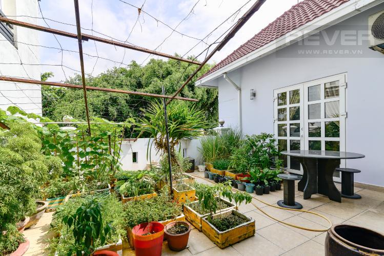 Sân Thượng Bán nhà phố 5 phòng ngủ tại Thảo Điền Quận 2, diện tích 173 m2, đầy đủ nội thất