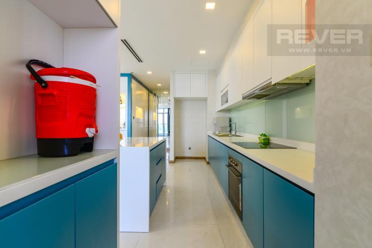 Nhà Bếp Căn hộ Vinhomes Central Park 4PN, tầng thấp, đầy đủ nội thất