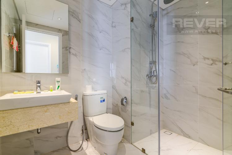 Phòng Tắm 1 Cho thuê căn hộ Diamond Island - Đảo Kim Cương 2PN, đầy đủ nội thất, view sông Sài Gòn thoáng mát