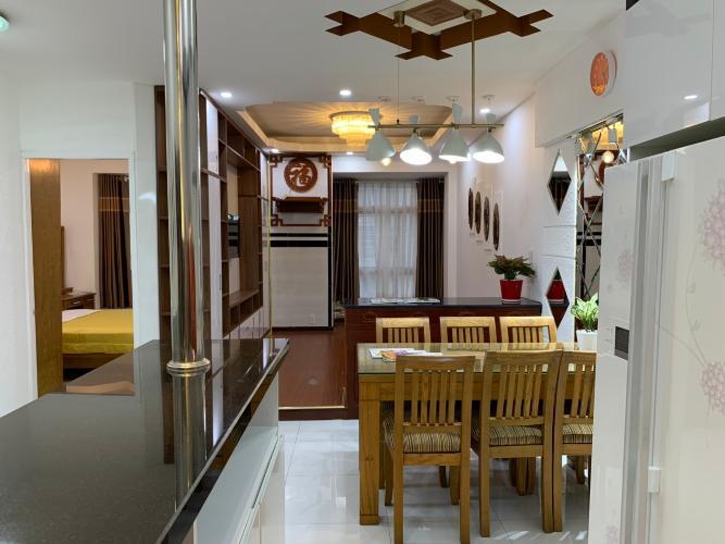 Phòng ăn Sky Garden, Quận 7 Căn hộ Sky Garden view nội khu, đầy đủ nội thất.
